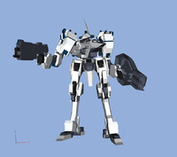 3ds max mecha armored core