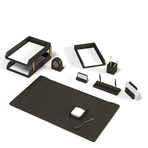 table top office desk accessories set  tray writing decor .jpg
