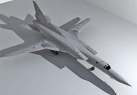 3d tupolev bomber