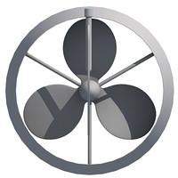 propeller prop 3d model