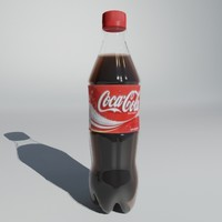 bottle ready render 3d model