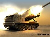 m-270 mlrs 3d model