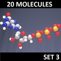 20 Molecules Set 3