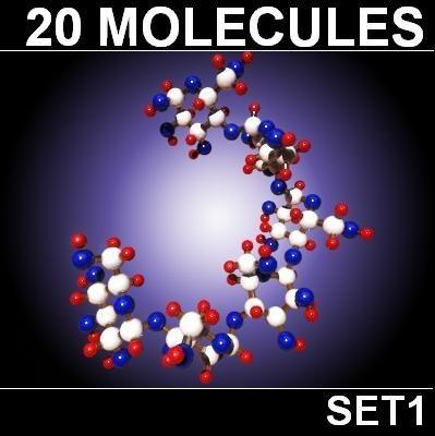 20 Molecules Set 1