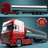 DAF XF Truck Tank Trailer