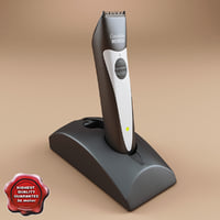 3ds max hair trimmer moser