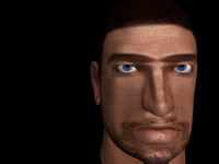 realistic head 3d max