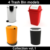 Trash Bin Collection vol 1
