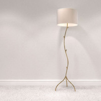 3d model floorlamp
