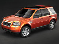 land rover landrover freelander 3d model