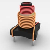 3d electronic coil model