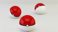 3ds max pokeball good