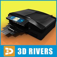concept printer 3d max