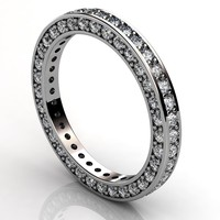 3d eternity ring