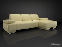 Contemporary corner sofa