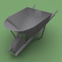 steel wheelbarrow 3ds