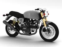 3d model ducati sportclassic gt1000 2010