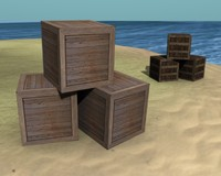 boxes blender 3ds free