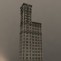 3d model skyscraper new york