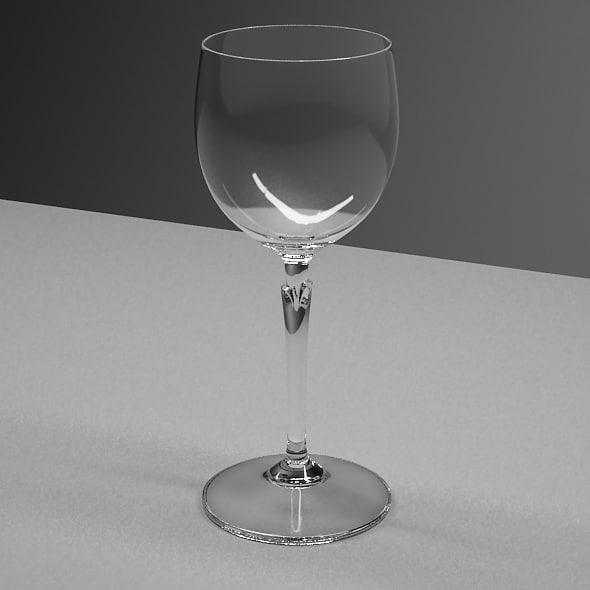3d model glasses wine tequila - Glasses Set... by RomanPritulyak