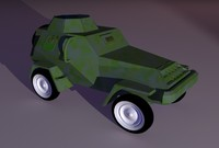 Armored Toy Car