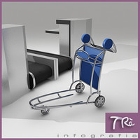 LUGGAGE CART AIRPORT