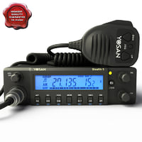 Mobile CB Radio Yosan Stealth 5