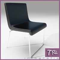 office chair rife viccarbe 3d model