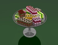 3ds max dish ribbon candy