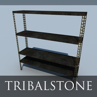 free simple shelf 2 3d model
