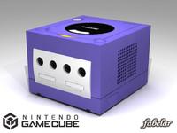 3d model nintendo console