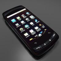 smart phone 3d 3ds