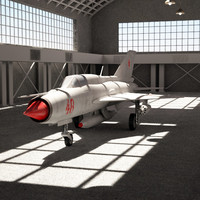 MIG-21 & Hangar