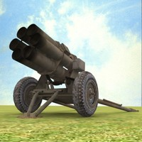 3ds nebelwerfer german rocket