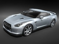 Nissan GT-R 2008 midpoly