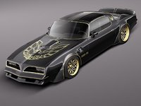Pontiac Firebird Trans Am Bandit 77 Custom