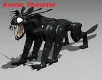avatar thanator 3d model
