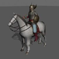 3ds max horseman mughal