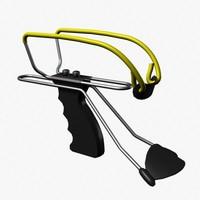 3d model slingshot sling