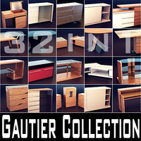 3d model gautier furniture