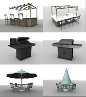 outdoor furniture 2 1 obj