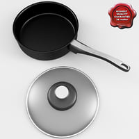 frying pan v1 3d 3ds