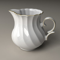 Porcelain Milk Pot