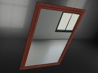 3d model mirror 2010 1 -