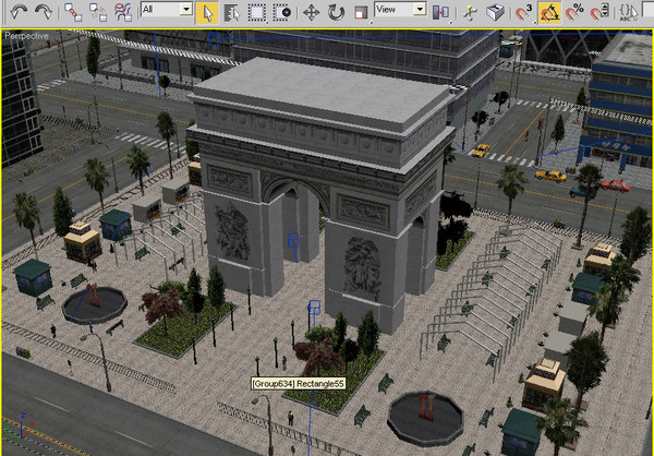 3d city buildings model - Low Poly City... by yusuf joher taherali