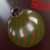 Ornament 13 - High Quality Christmas Ornament - 3ds max 2010 - Mental Ray