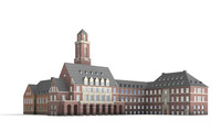 3d city hall bottrop model