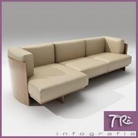 3d model sofa polo