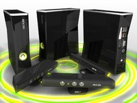 3d xbox 360 s kinect model