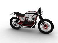 3d moto guzzi v7 clubman